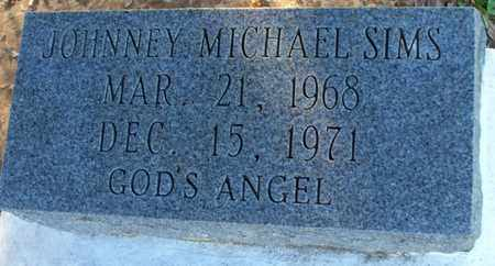 SIMS, JOHNNEY MICHAEL - St. Helena County, Louisiana | JOHNNEY MICHAEL SIMS - Louisiana Gravestone Photos