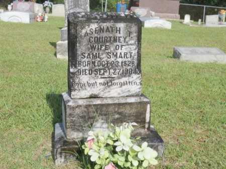 COURTNEY SMART, ASENATH T - St. Helena County, Louisiana | ASENATH T COURTNEY SMART - Louisiana Gravestone Photos