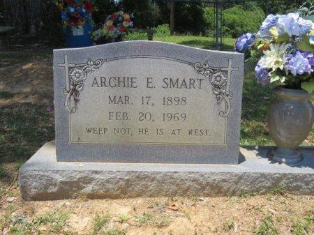 SMART, ARCHIE E (CLOSE UP) - St. Helena County, Louisiana | ARCHIE E (CLOSE UP) SMART - Louisiana Gravestone Photos