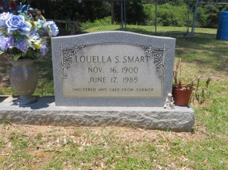 SMART, LOUELLA S (CLOSE UP) - St. Helena County, Louisiana | LOUELLA S (CLOSE UP) SMART - Louisiana Gravestone Photos