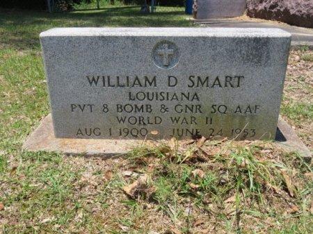SMART  , WILLIAM D  (VETERAN WWII) - St. Helena County, Louisiana | WILLIAM D  (VETERAN WWII) SMART   - Louisiana Gravestone Photos