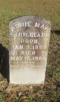 STRICKLAND, ANNIE MAY - St. Helena County, Louisiana   ANNIE MAY STRICKLAND - Louisiana Gravestone Photos