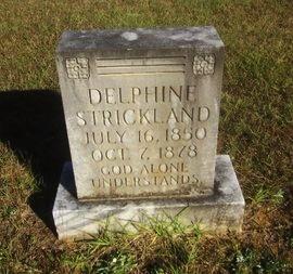 STRICKLAND, DELPHINE - St. Helena County, Louisiana | DELPHINE STRICKLAND - Louisiana Gravestone Photos