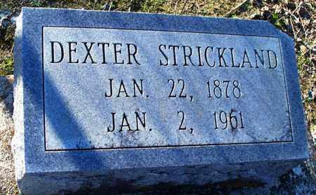 STRICKLAND, DEXTER - St. Helena County, Louisiana | DEXTER STRICKLAND - Louisiana Gravestone Photos