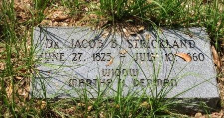 STRICKLAND, JACOB B, DR - St. Helena County, Louisiana | JACOB B, DR STRICKLAND - Louisiana Gravestone Photos