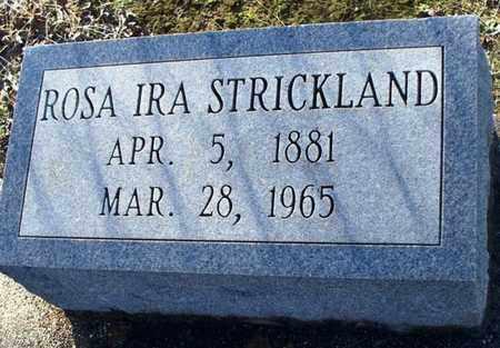 STRICKLAND, ROSA IRA - St. Helena County, Louisiana   ROSA IRA STRICKLAND - Louisiana Gravestone Photos