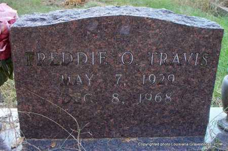TRAVIS, FREDDIE O - St. Helena County, Louisiana | FREDDIE O TRAVIS - Louisiana Gravestone Photos