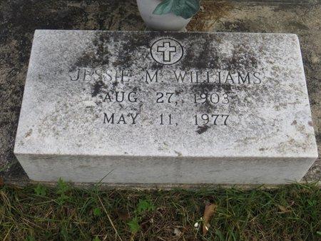 WILLIAMS, JESSIE M - St. Helena County, Louisiana | JESSIE M WILLIAMS - Louisiana Gravestone Photos