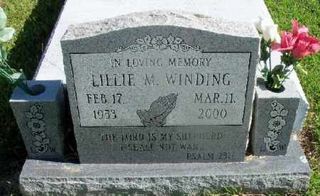 WINDING, LILLIE M - St. Helena County, Louisiana | LILLIE M WINDING - Louisiana Gravestone Photos