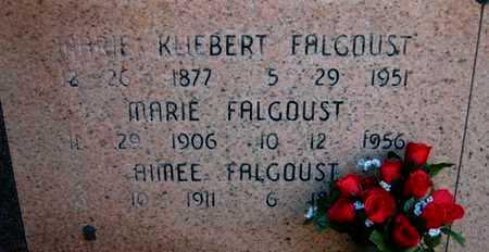FALGOUST, MARIE REGINA - St. James County, Louisiana | MARIE REGINA FALGOUST - Louisiana Gravestone Photos