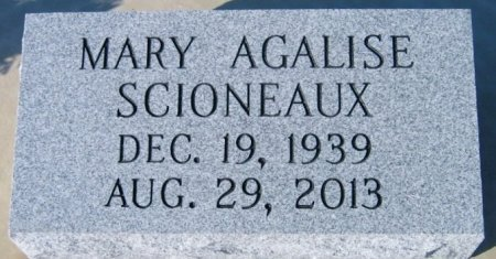 AGALISE SCIONEAUX, MARY - St. James County, Louisiana   MARY AGALISE SCIONEAUX - Louisiana Gravestone Photos