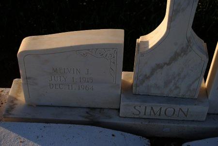 SIMON, MELVIN J - St. James County, Louisiana   MELVIN J SIMON - Louisiana Gravestone Photos