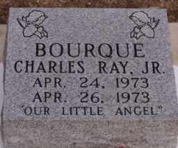 BOURQUE, CHARLES RAY, JR (CLOSE UP) - St. Landry County, Louisiana | CHARLES RAY, JR (CLOSE UP) BOURQUE - Louisiana Gravestone Photos