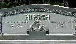 HIRSCH, MORRIS ARON - St. Landry County, Louisiana | MORRIS ARON HIRSCH - Louisiana Gravestone Photos
