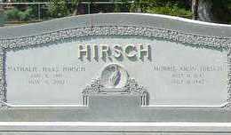 HIRSCH, NATHALIE - St. Landry County, Louisiana   NATHALIE HIRSCH - Louisiana Gravestone Photos