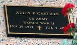 CASTILLE, ADLEY P (VETERAN WWII) - St. Martin County, Louisiana | ADLEY P (VETERAN WWII) CASTILLE - Louisiana Gravestone Photos