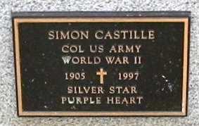 CASTILLE, SIMON (VETERAN WWII) - St. Martin County, Louisiana   SIMON (VETERAN WWII) CASTILLE - Louisiana Gravestone Photos