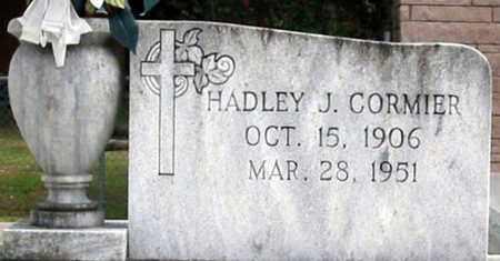 CORMIER, HADLEY J - St. Martin County, Louisiana | HADLEY J CORMIER - Louisiana Gravestone Photos