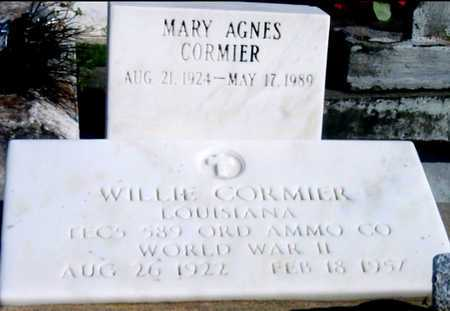 CORMIER, WILLIE (VETERAN WWII) - St. Martin County, Louisiana | WILLIE (VETERAN WWII) CORMIER - Louisiana Gravestone Photos