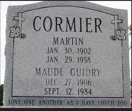 GUIDRY CORMIER, MAUDE - St. Martin County, Louisiana | MAUDE GUIDRY CORMIER - Louisiana Gravestone Photos