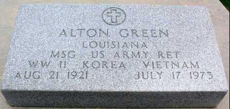 GREEN, ALTON (VETERAN 3 WARS) - St. Martin County, Louisiana | ALTON (VETERAN 3 WARS) GREEN - Louisiana Gravestone Photos