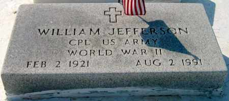 JEFFERSON, WILLIAM  (VETERAN WWII) - St. Martin County, Louisiana | WILLIAM  (VETERAN WWII) JEFFERSON - Louisiana Gravestone Photos