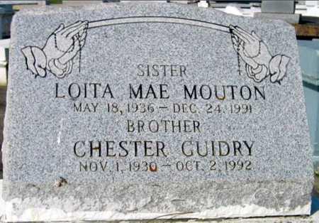 GUIDRY, CHESTER - St. Martin County, Louisiana | CHESTER GUIDRY - Louisiana Gravestone Photos