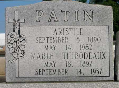 PATIN, ARISTLE - St. Martin County, Louisiana | ARISTLE PATIN - Louisiana Gravestone Photos