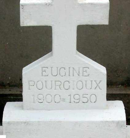 POURCIOUX, EUGINE - St. Martin County, Louisiana | EUGINE POURCIOUX - Louisiana Gravestone Photos