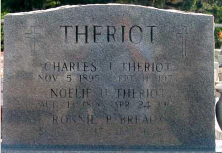 THERIOT, CHARLES J - St. Martin County, Louisiana | CHARLES J THERIOT - Louisiana Gravestone Photos
