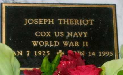 THERIOT, JOSEPH (VETERAN WWII) - St. Martin County, Louisiana | JOSEPH (VETERAN WWII) THERIOT - Louisiana Gravestone Photos
