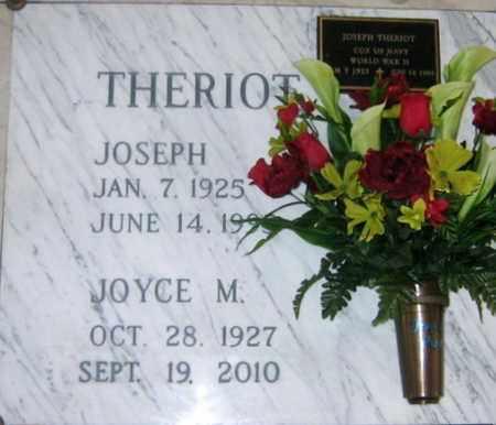 MOLBERT THERIOT, JOYCE - St. Martin County, Louisiana | JOYCE MOLBERT THERIOT - Louisiana Gravestone Photos