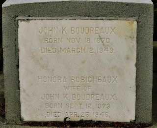 BOUDREAUX, HONORIA - St. Mary County, Louisiana | HONORIA BOUDREAUX - Louisiana Gravestone Photos