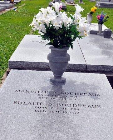 BOUDREAUX, MANVILLE R - St. Mary County, Louisiana | MANVILLE R BOUDREAUX - Louisiana Gravestone Photos