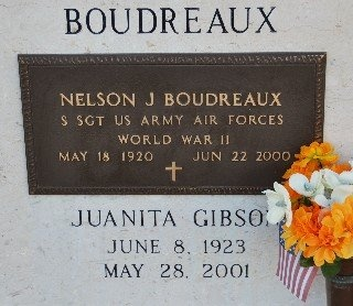 BOUDREAUX, JUANITA - St. Mary County, Louisiana | JUANITA BOUDREAUX - Louisiana Gravestone Photos