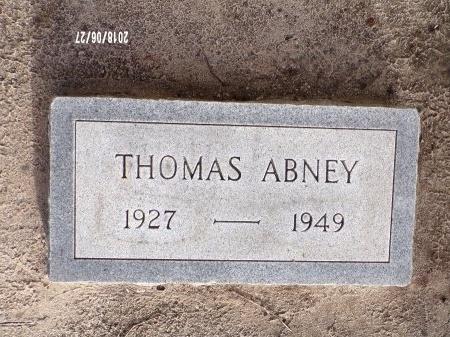 ABNEY, THOMAS - St. Tammany County, Louisiana | THOMAS ABNEY - Louisiana Gravestone Photos