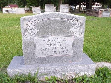 ABNEY, VERNON W - St. Tammany County, Louisiana | VERNON W ABNEY - Louisiana Gravestone Photos