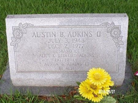 ADKINS, AUSTIN B., II - St. Tammany County, Louisiana | AUSTIN B., II ADKINS - Louisiana Gravestone Photos