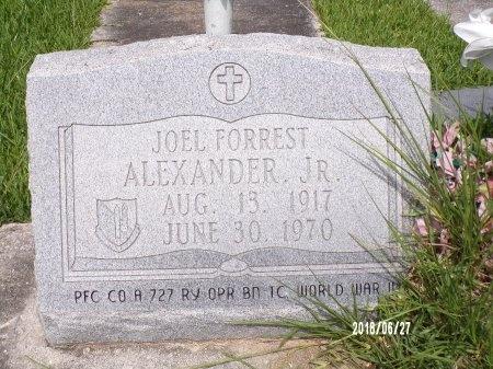 ALEXANDER, JOEL FORREST, JR - St. Tammany County, Louisiana | JOEL FORREST, JR ALEXANDER - Louisiana Gravestone Photos