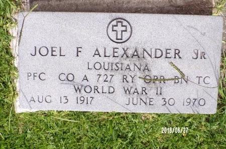 ALEXANDER, JOEL FORREST, SR (VETERAN WWII) - St. Tammany County, Louisiana | JOEL FORREST, SR (VETERAN WWII) ALEXANDER - Louisiana Gravestone Photos