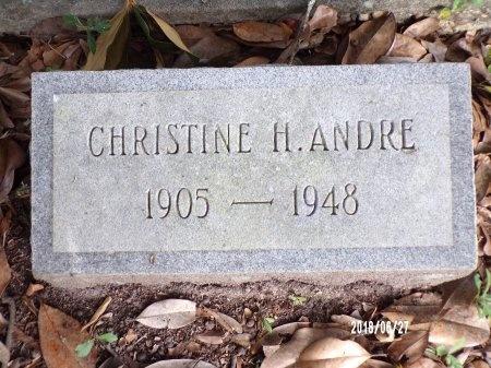 HANSBROUGH WAGELAAR ANDRE, CHRISTINE - St. Tammany County, Louisiana   CHRISTINE HANSBROUGH WAGELAAR ANDRE - Louisiana Gravestone Photos