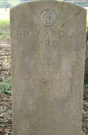 ARD, HOWARD A  (VETERAN WWII) - St. Tammany County, Louisiana | HOWARD A  (VETERAN WWII) ARD - Louisiana Gravestone Photos