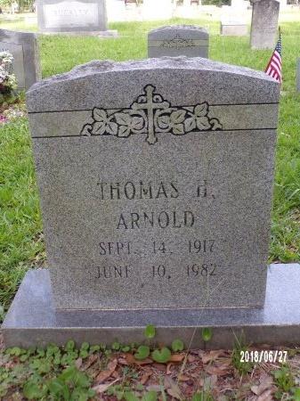 ARNOLD, THOMAS H - St. Tammany County, Louisiana | THOMAS H ARNOLD - Louisiana Gravestone Photos