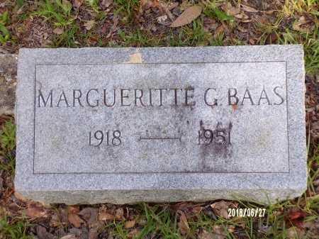 BAAS, MARGUERITTE  - St. Tammany County, Louisiana | MARGUERITTE  BAAS - Louisiana Gravestone Photos