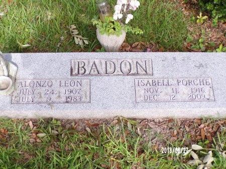 BADON, ISABELL - St. Tammany County, Louisiana   ISABELL BADON - Louisiana Gravestone Photos
