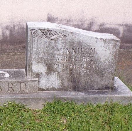 BEARD, MINNIE M (CLOSE UP) - St. Tammany County, Louisiana | MINNIE M (CLOSE UP) BEARD - Louisiana Gravestone Photos