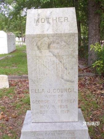 COUNCIL BETHEA, ELLA J - St. Tammany County, Louisiana | ELLA J COUNCIL BETHEA - Louisiana Gravestone Photos