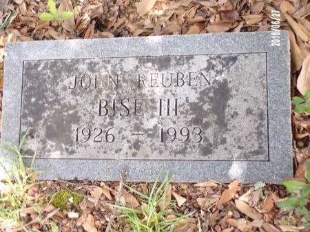 BISE, JOHN REUBEN, III - St. Tammany County, Louisiana | JOHN REUBEN, III BISE - Louisiana Gravestone Photos