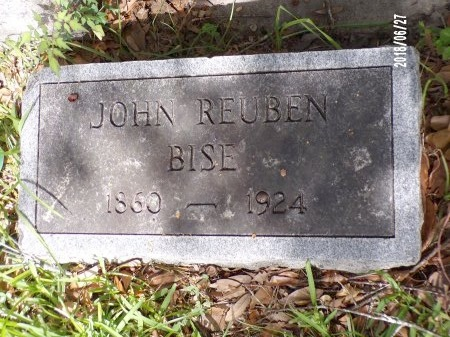 BISE, JOHN REUBEN, SR - St. Tammany County, Louisiana | JOHN REUBEN, SR BISE - Louisiana Gravestone Photos
