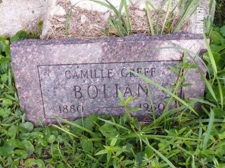 GREFF BOLIAN, CAMILLE - St. Tammany County, Louisiana | CAMILLE GREFF BOLIAN - Louisiana Gravestone Photos